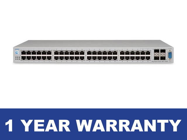 NORTEL 5520 48T PWR Managed Power Over Ethernet Switch