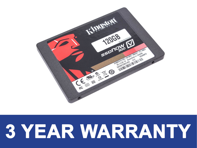 """NEW Kingston V300 120GB 2.5"""" Solid State Drive SSD"""